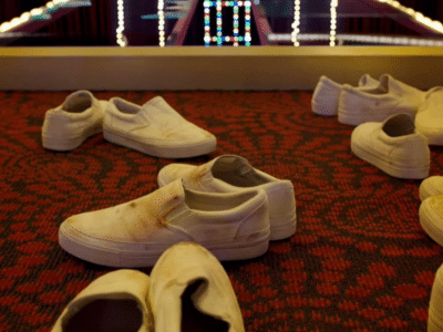 Where to Buy White Slip On 'Squid Game' Shoes in Australia