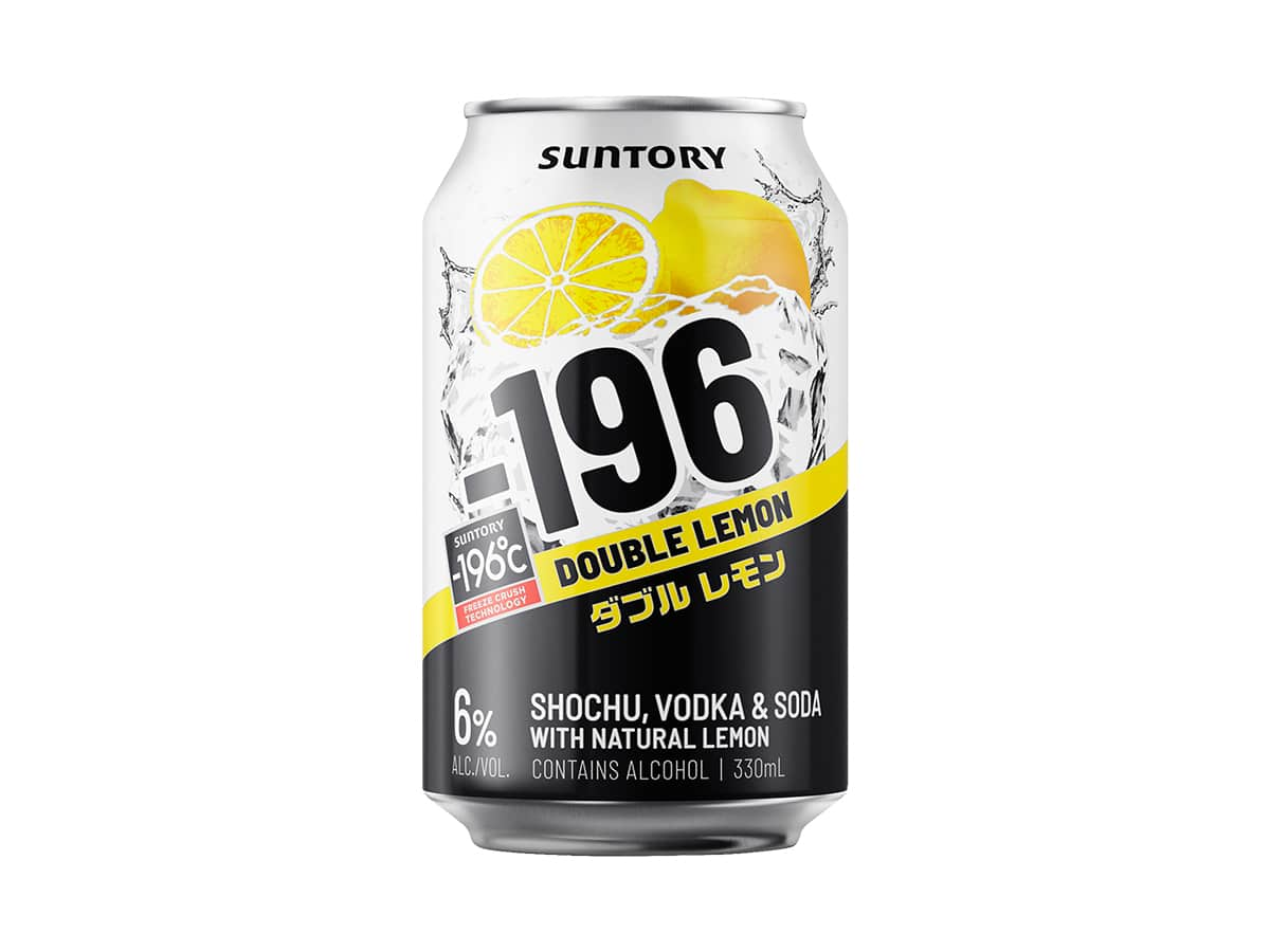 Suntory 196 double lemon