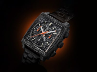Back in Black: TAG Heuer Only Watch Carbon Monaco Celebrates a Dark History