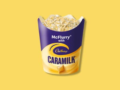 Put the Diet on Hold, Macca's Just Launched a Caramilk McFlurry