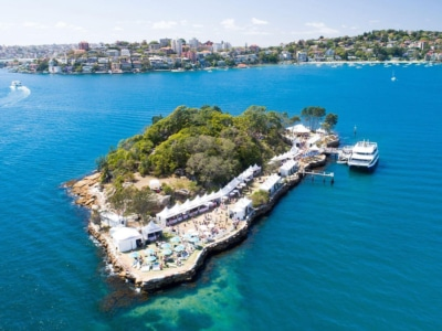 Wine Island is Coming Back to Sydney Harbour