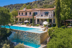 Justin Timberlake LA Villa